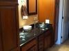 Amaretto Cabinets with Granite Tops